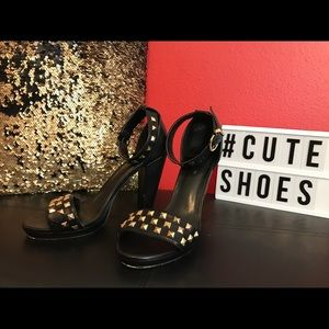 H&M studded heels size 8.5